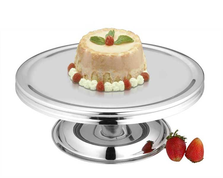 Cake Stand With Double Base