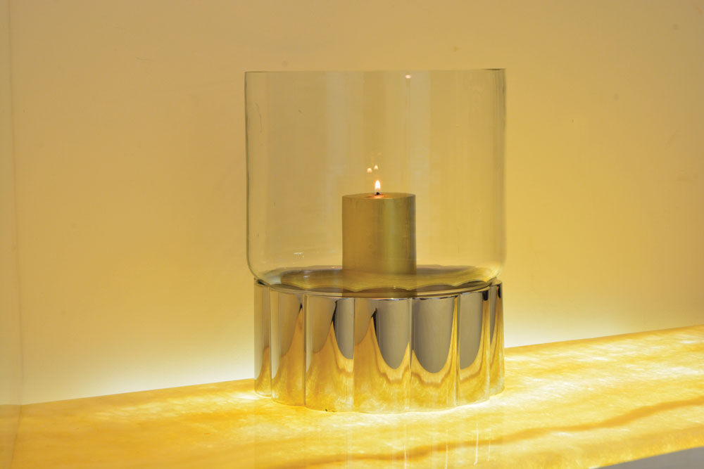 Margarita Candle Holder With Glass