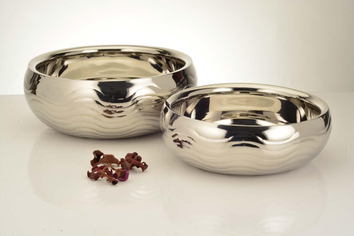 Belly shape bowl wave design