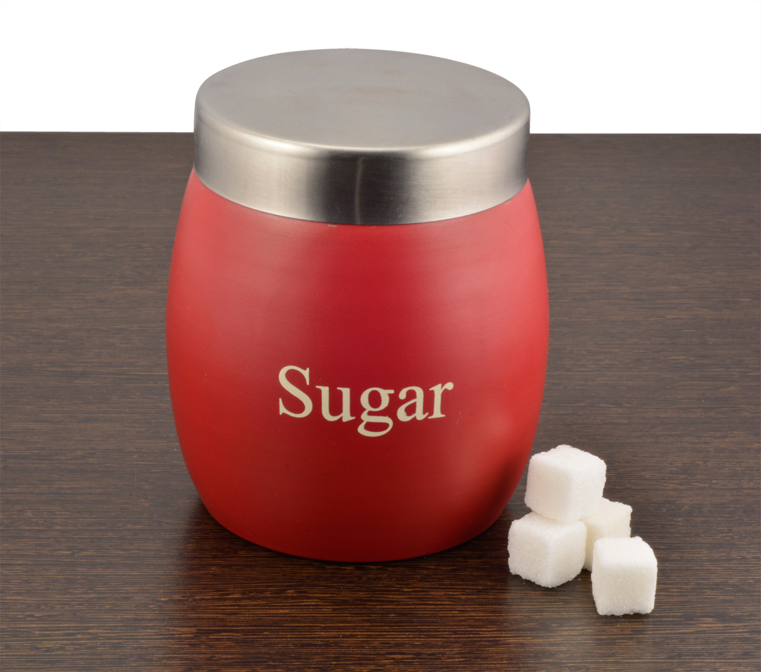 Canister Sugar Red
