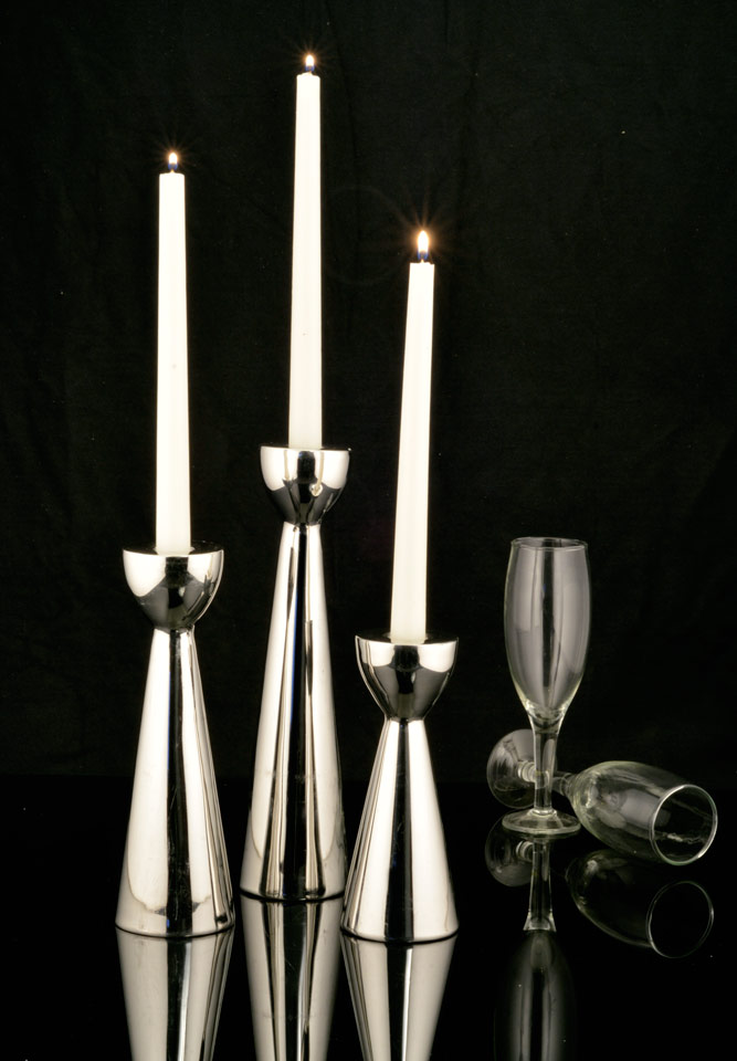 Trophy candle holder