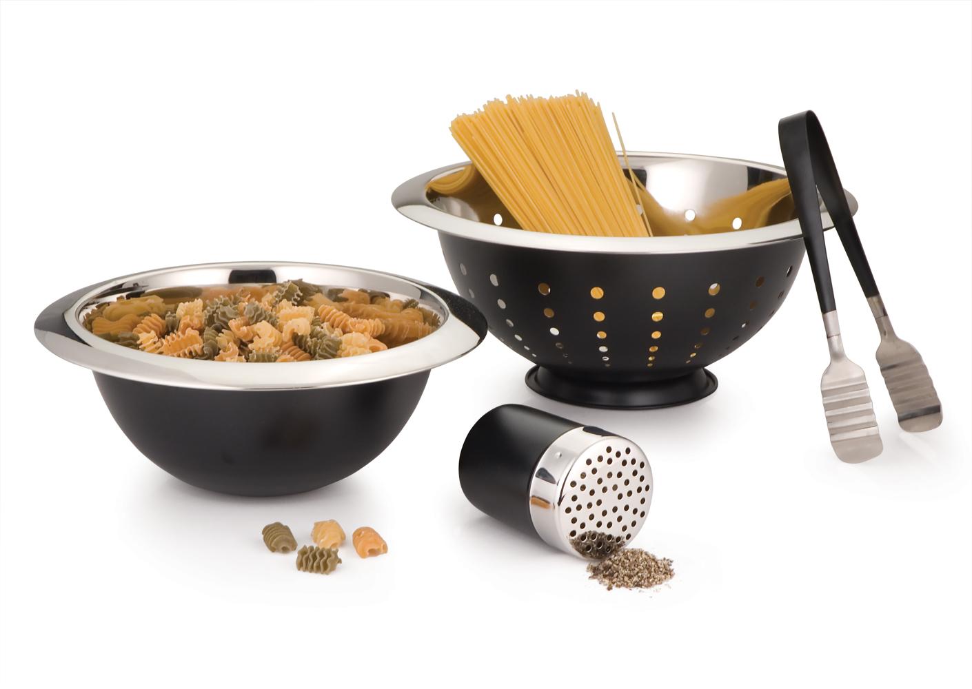Pasta set of 4Pcs Black