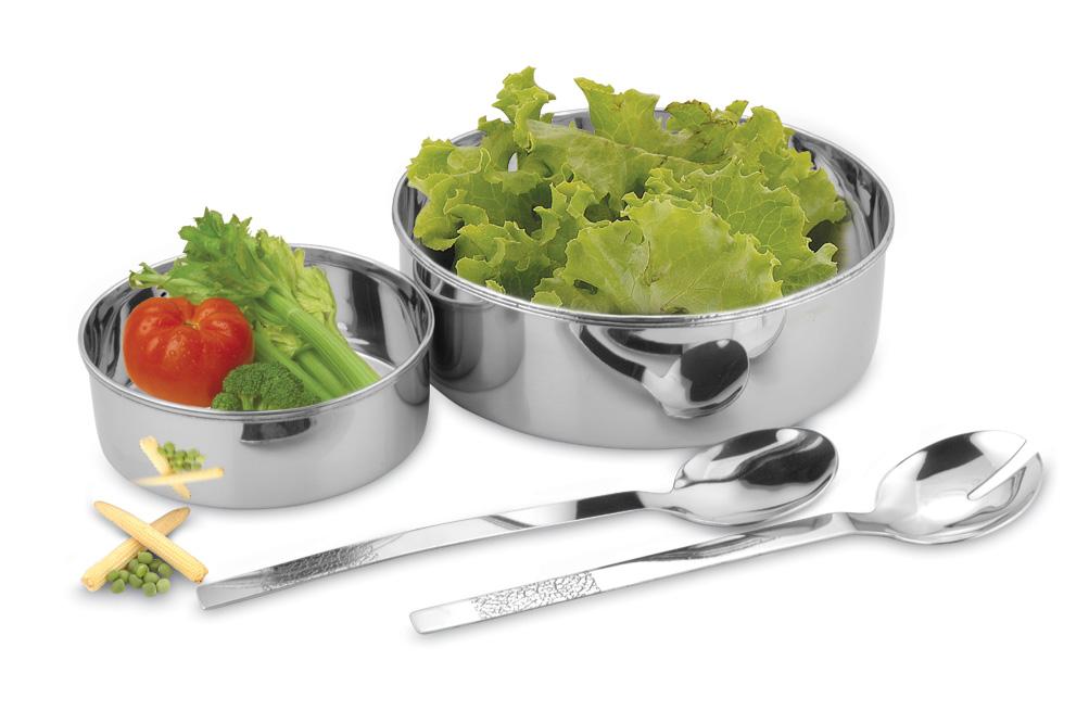 Straight salad set