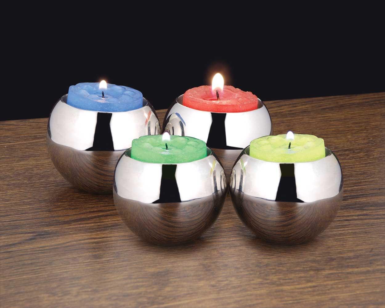 Globe mini candle holder