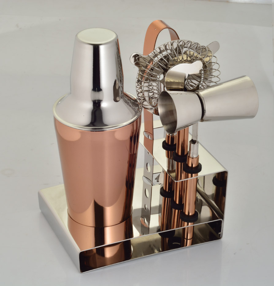 Bar tools gift set Copper
