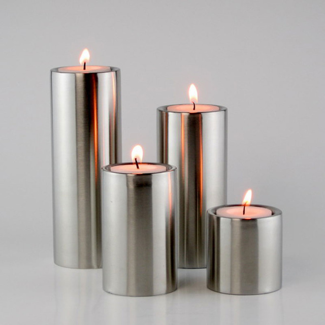 Tower round candle holder