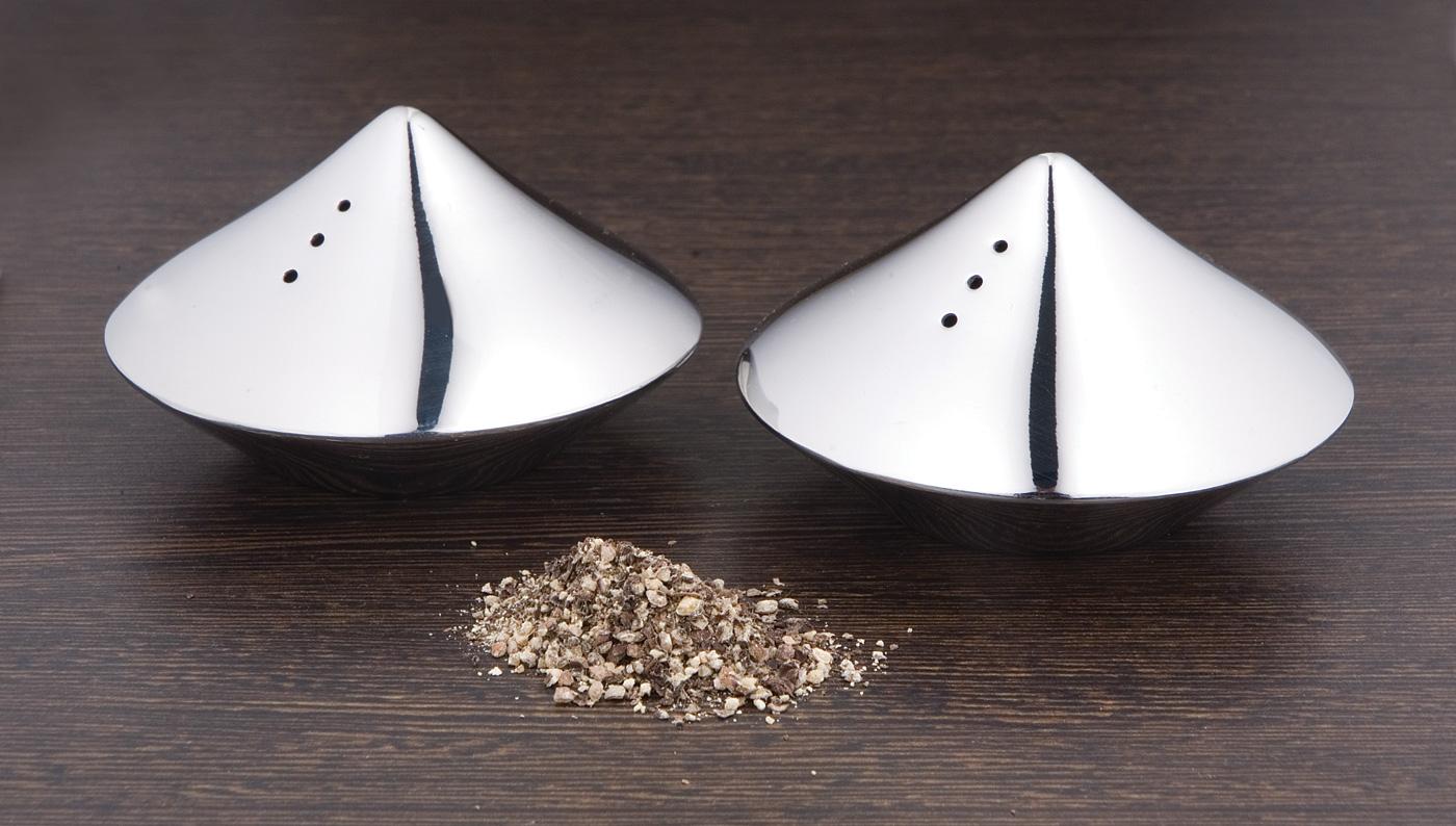 Pyramid Design Salt & Pepper